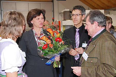 Informationstage mit Staatsministerin Ilse Aigner